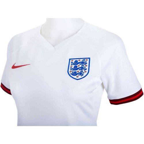 2019 Womens Nike England Home Jersey