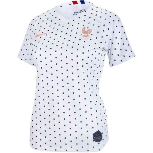 2019 Womens Nike France Away Jersey