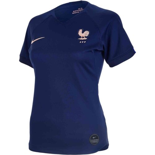 2019 Womens Nike France Home Jersey