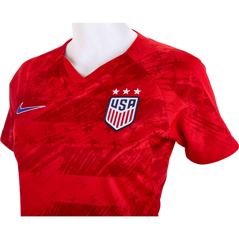 18d7f7c1baf 2019 Womens Nike Alex Morgan USWNT Away Jersey - Cleatsxp