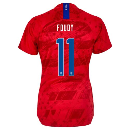 2019 Womens Nike Julie Foudy USWNT Away Jersey