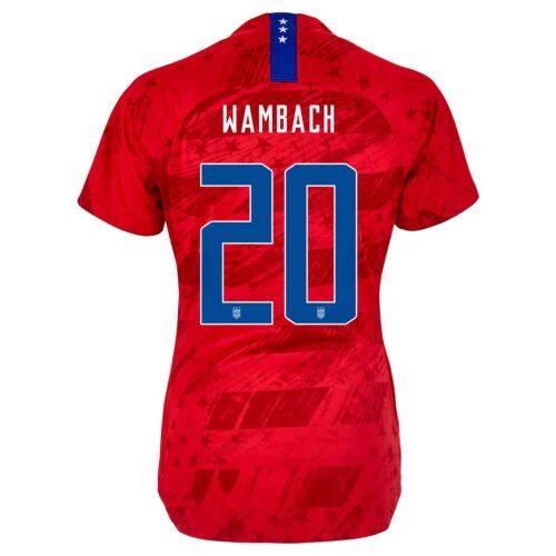 2019 Womens Nike Abby Wambach USWNT Away Jersey