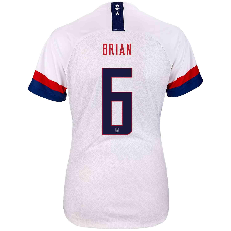 2019 Womens Nike Morgan Brian USWNT Home Jersey - SoccerPro