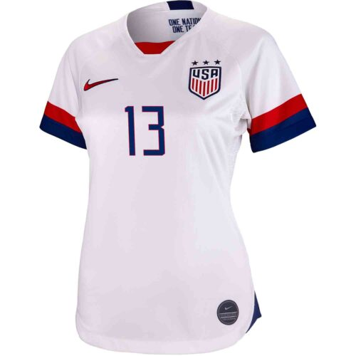 2019 Womens Nike Kristine Lilly USWNT Home Jersey