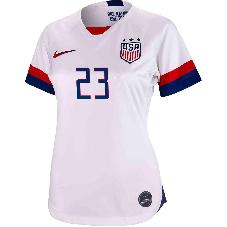 8cefa2cfa67 2019 Womens Nike Christen Press USWNT Home Jersey - SoccerPro