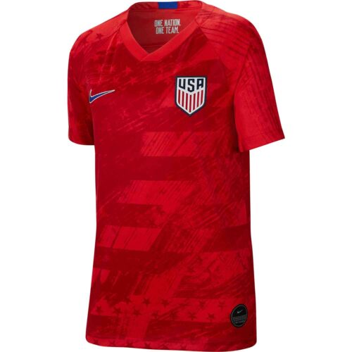 2019 Kids Nike USMNT Away Jersey