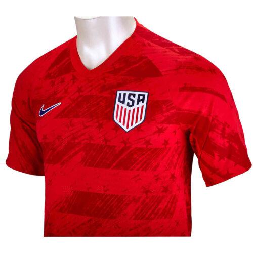 2019 Kids Nike Julie Foudy USA Away Jersey