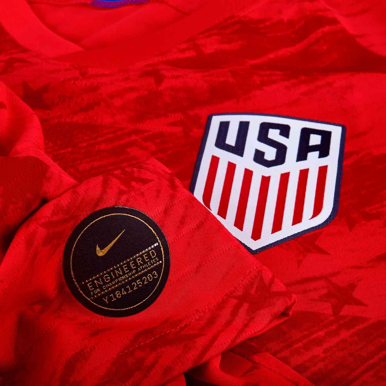 297174e8f93 2019 Kids Nike Tobin Heath USA Away Jersey - Cleatsxp