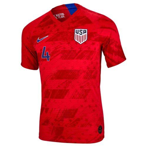 2019 Kids Nike Tyler Adams USA Away Jersey