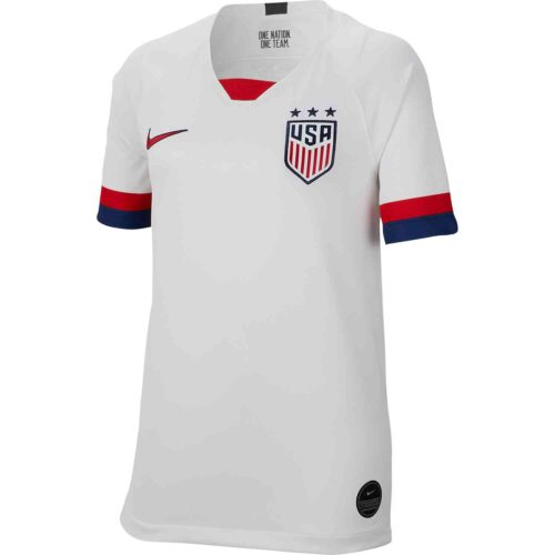 2019 Kids Nike USA Home Jersey