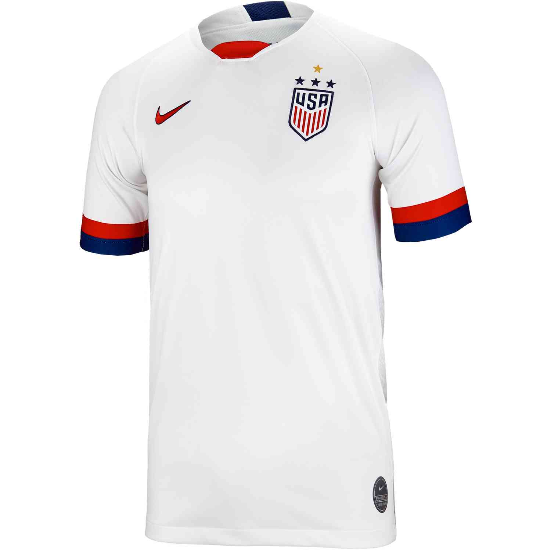 d267da7111d 2019 Kids Nike USA Home Jersey - SoccerPro