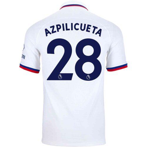 2019/20 Nike Cesar Azpilicueta Chelsea Away Match Jersey