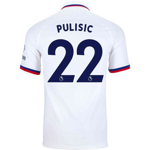 2019/20 Nike Christian Pulisic Chelsea Away Match Jersey