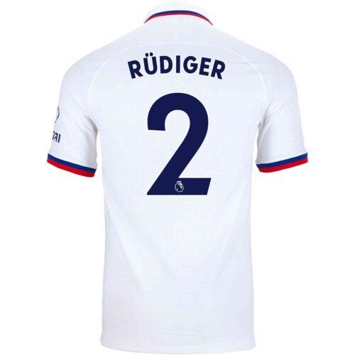 2019/20 Nike Antonio Rudiger Chelsea Away Match Jersey