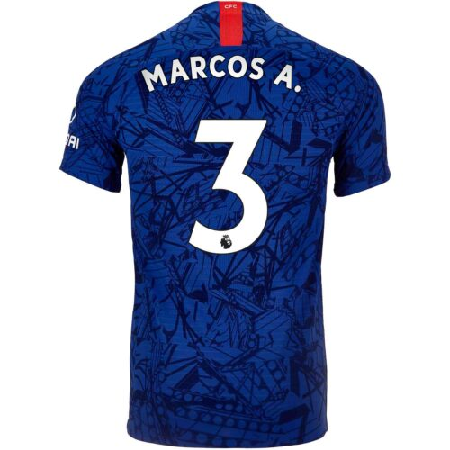 2019/20 Nike Marcos Alonso Chelsea Home Match Jersey