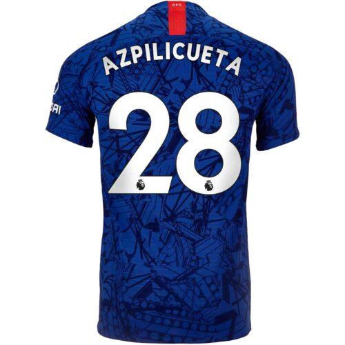 2019/20 Nike Cesar Azpilicueta Chelsea Home Match Jersey