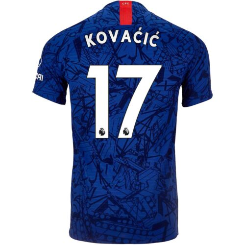 2019/20 Nike Mateo Kovacic Chelsea Home Match Jersey