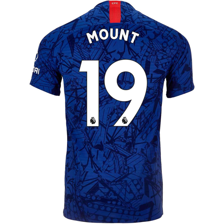 2019/20 Nike Mason Mount Chelsea Home Match Jersey - SoccerPro