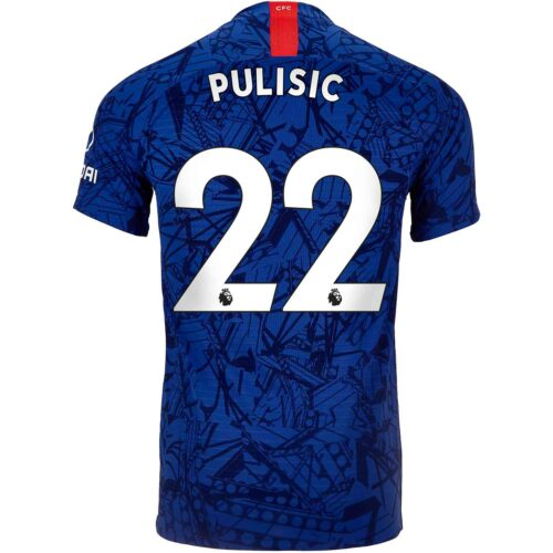 2019/20 Nike Christian Pulisic Chelsea Home Match Jersey