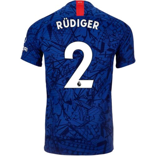 2019/20 Nike Antonio Rudiger Chelsea Home Match Jersey