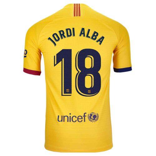 2019/20 Nike Jordi Alba Barcelona Away Match Jersey