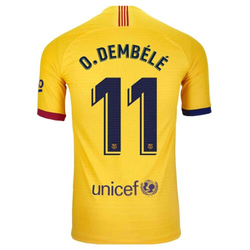 2019/20 Nike Ousmane Dembele Barcelona Away Match Jersey