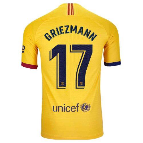 2019/20 Nike Antoine Griezmann Barcelona Away Match Jersey