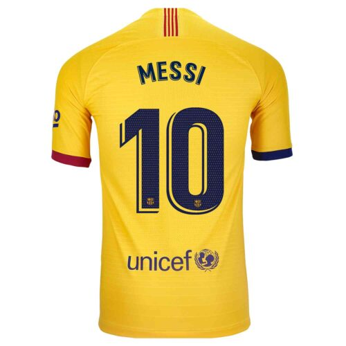 2019/20 Nike Lionel Messi Barcelona Away Match Jersey