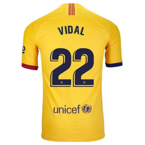 2019/20 Nike Arturo Vidal Barcelona Away Match Jersey