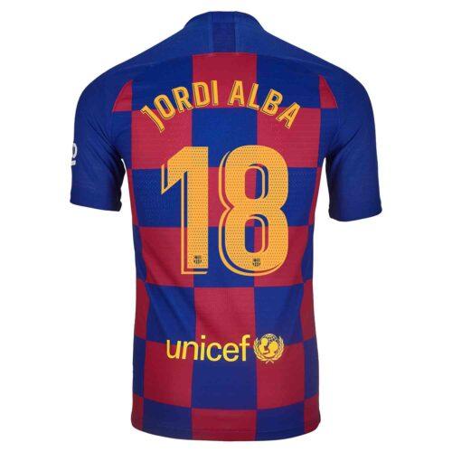 2019/20 Nike Jordi Alba Barcelona Home Match Jersey