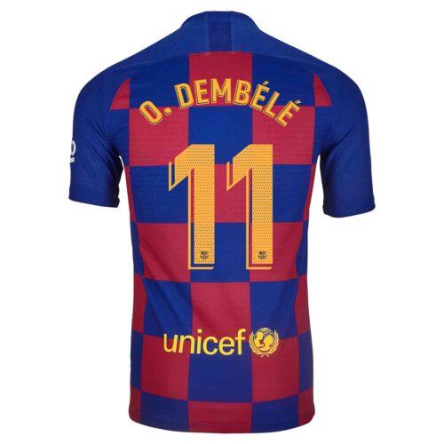2019/20 Nike Ousmane Dembele Barcelona Home Match Jersey