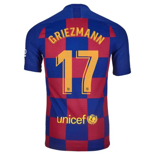 2019/20 Nike Antoine Griezmann Barcelona Home Match Jersey