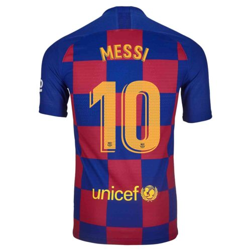 2019/20 Nike Lionel Messi Barcelona Home Match Jersey