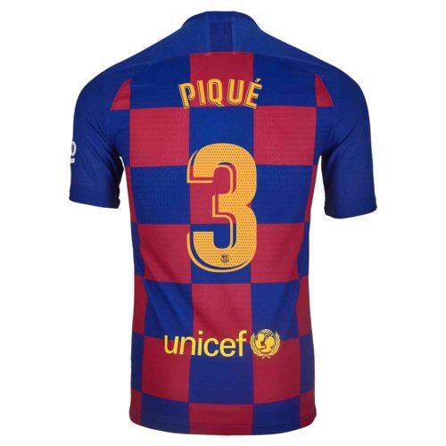2019/20 Nike Gerard Pique Barcelona Home Match Jersey