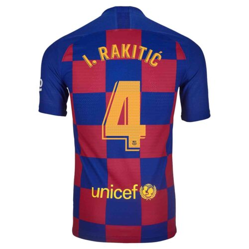 2019/20 Nike Ivan Rakitic Barcelona Home Match Jersey