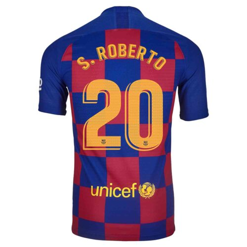 2019/20 Nike Sergi Roberto Barcelona Home Match Jersey