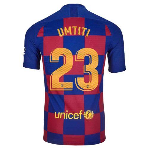 2019/20 Nike Samuel Umtiti Barcelona Home Match Jersey