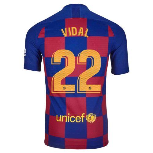 2019/20 Nike Arturo Vidal Barcelona Home Match Jersey