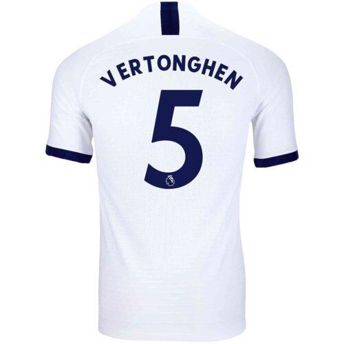 2019/20 Nike Jan Vertonghen Tottenham Home Match Jersey