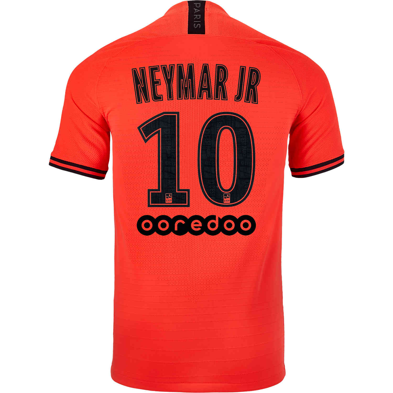 2019 20 Jordan Neymar Jr Psg Away Match Jersey Soccerpro