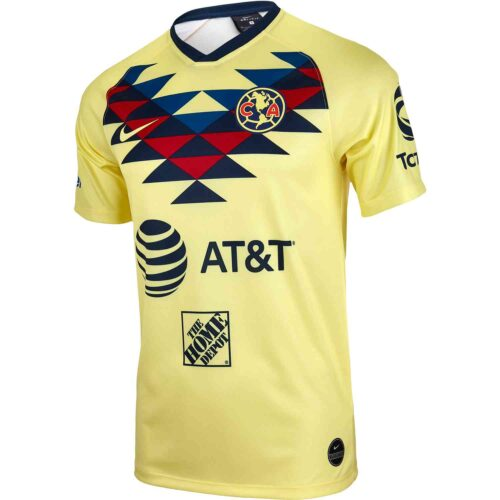 Nike Club America Home Breathe Top – Lemon Chiffon/Lemon Chiffon