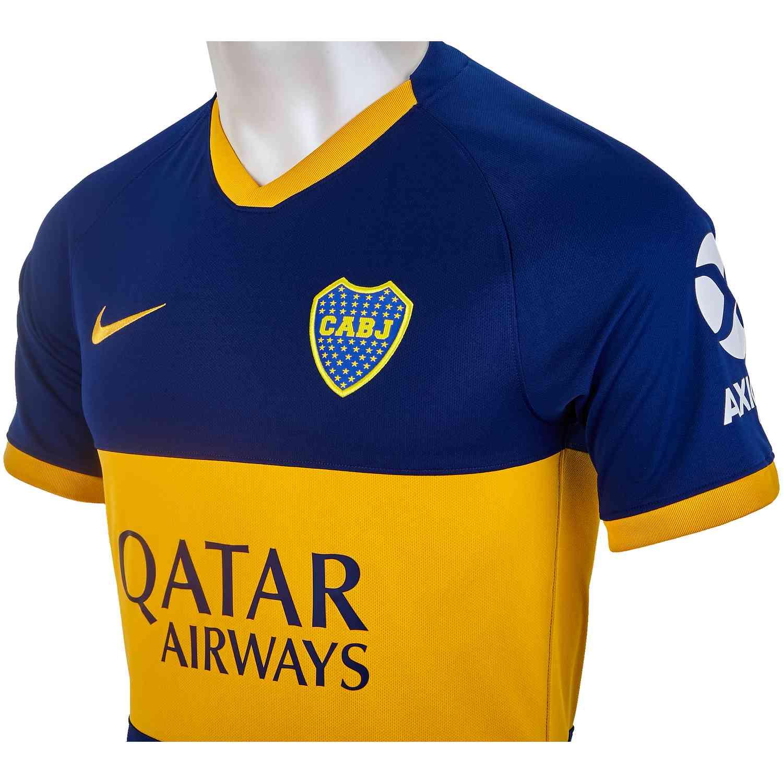 big sale 8ebca c7024 Nike Boca Juniors Home Jersey - 2019/20 - SoccerPro