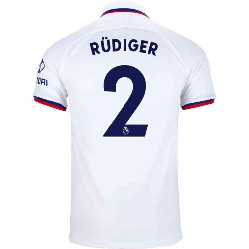 2019/20 Nike Antonio Rudiger Chelsea Away Jersey