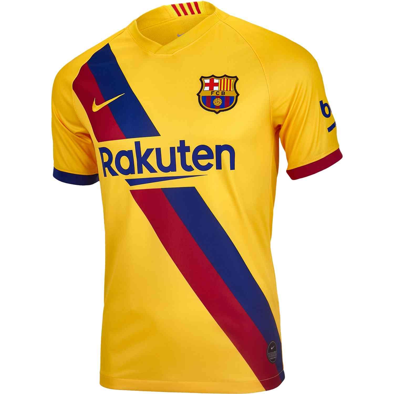 buy popular 05955 0dbec 2019/20 Nike Barcelona Away Jersey