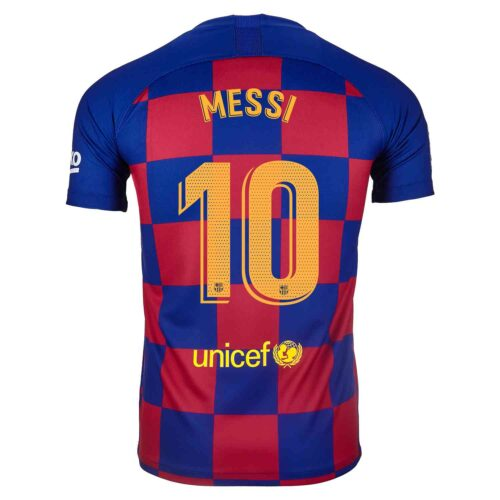 2019/20 Nike Lionel Messi Barcelona Home Jersey