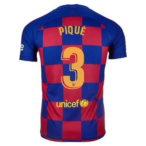 2019/20 Nike Gerard Pique Barcelona Home Jersey