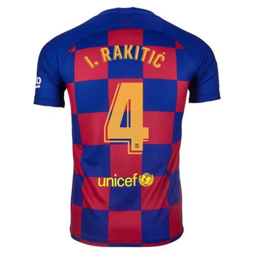 2019/20 Nike Ivan Rakitic Barcelona Home Jersey