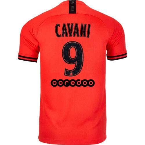 2019/20 Jordan Edinson Cavani PSG Away Jersey