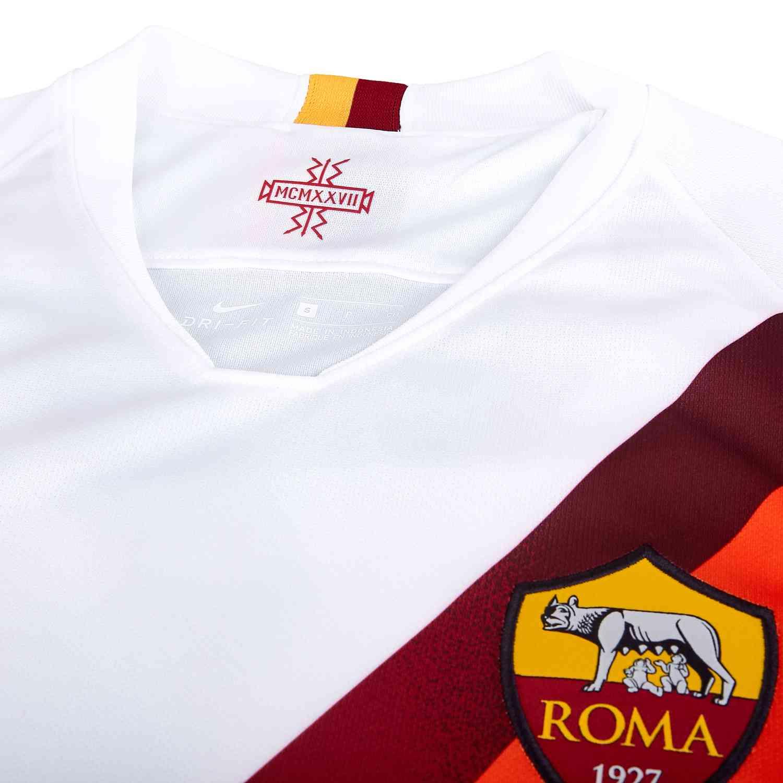 a49c724933f8d 2019/20 Nike AS Roma Away Jersey - SoccerPro