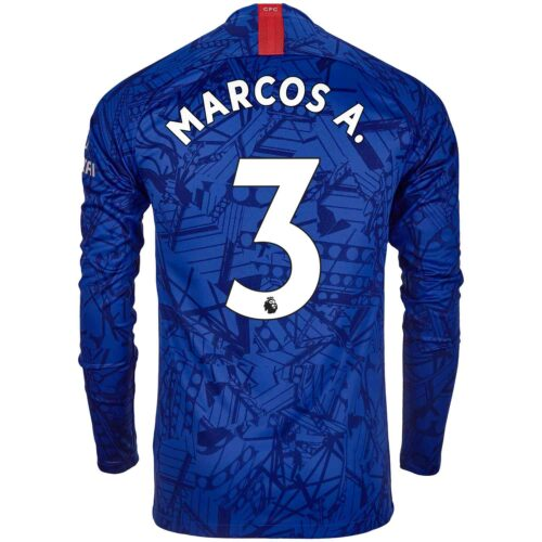 2019/20 Nike Marcos Alonso Chelsea L/S Home Jersey